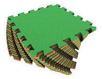 Универсальный коврик 25*25(см) оранжево-зеленый , фото 2