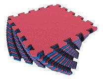 Универсальный коврик 25*25(см) красно-синий