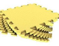 Универсальный коврик 33*33(см) желтый