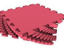Универсальный коврик 33*33(см) красный