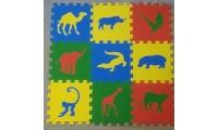 Универсальный коврик Сафари 33*33(см), 9 дет. 1(м2)