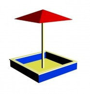 Песочница с зонтом, фото 2