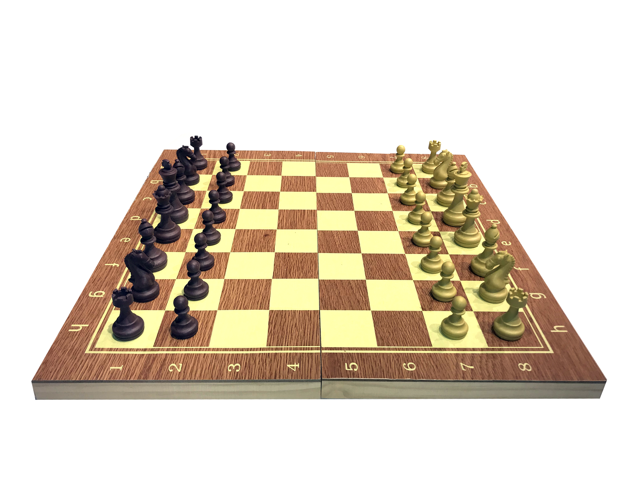 Шахматы 3в 1 (340мм х 340 мм)