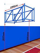 Ферма для игрового баскетбольного щита с выносом 1,2м складная, фото 2