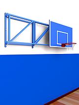 Ферма для игрового баскетбольного щита с выносом 1,2м складная, фото 3