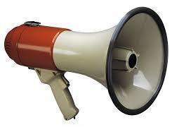 Ручной мегафон рупор громкоговоритель HW 20, фото 2