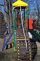 """Комплекс """"ОМЕГА-2"""" с горкой, спортивно-игровой для детей, фото 3"""