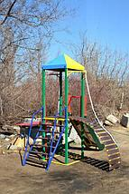 """Комплекс """"ОМЕГА-2"""" с горкой, спортивно-игровой для детей, фото 2"""