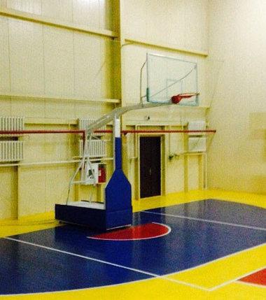 Стойка баскетбольная мобильная складная, фото 2