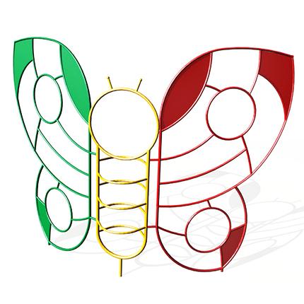 Игрушка-лаз «Бабочка»  (для дет сада), фото 2