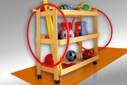 Подставка под гимнастическое оборудование для детсада, фото 2