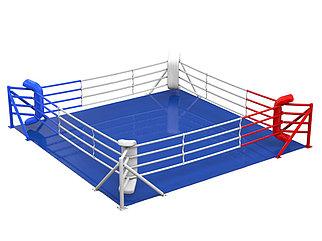 Ринг боксерский 5 х 5 м (боевая зона) на упорах