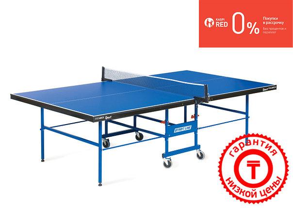Теннисный стол Sport - предназначенный для игры в помещении, подходит для школ и спортивных клубов, фото 2