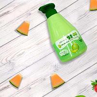 Welcos Kwailnara Melon Milk Body Cleanser  Гель для душа Дынное Молочко
