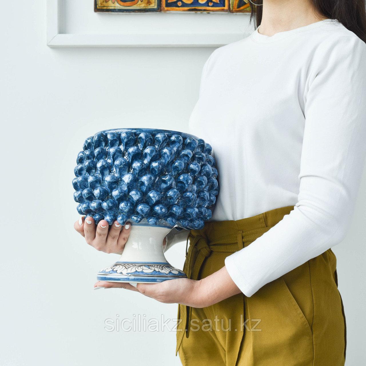 Декоративная Ваза Пигна ручной работы, керамика. Италия - фото 5