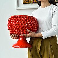Декоративная Ваза Пигна ручной работы, керамика. Италия