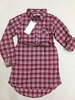 Стильные рубашки-туники Wanex с ремешком
