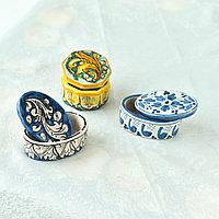 Шкатулка ручной работы, керамика.Италия