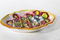Мыльница ручной работы, керамика. Италия