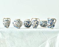 Сувенирная Ваза ручной работы, керамика. Италия