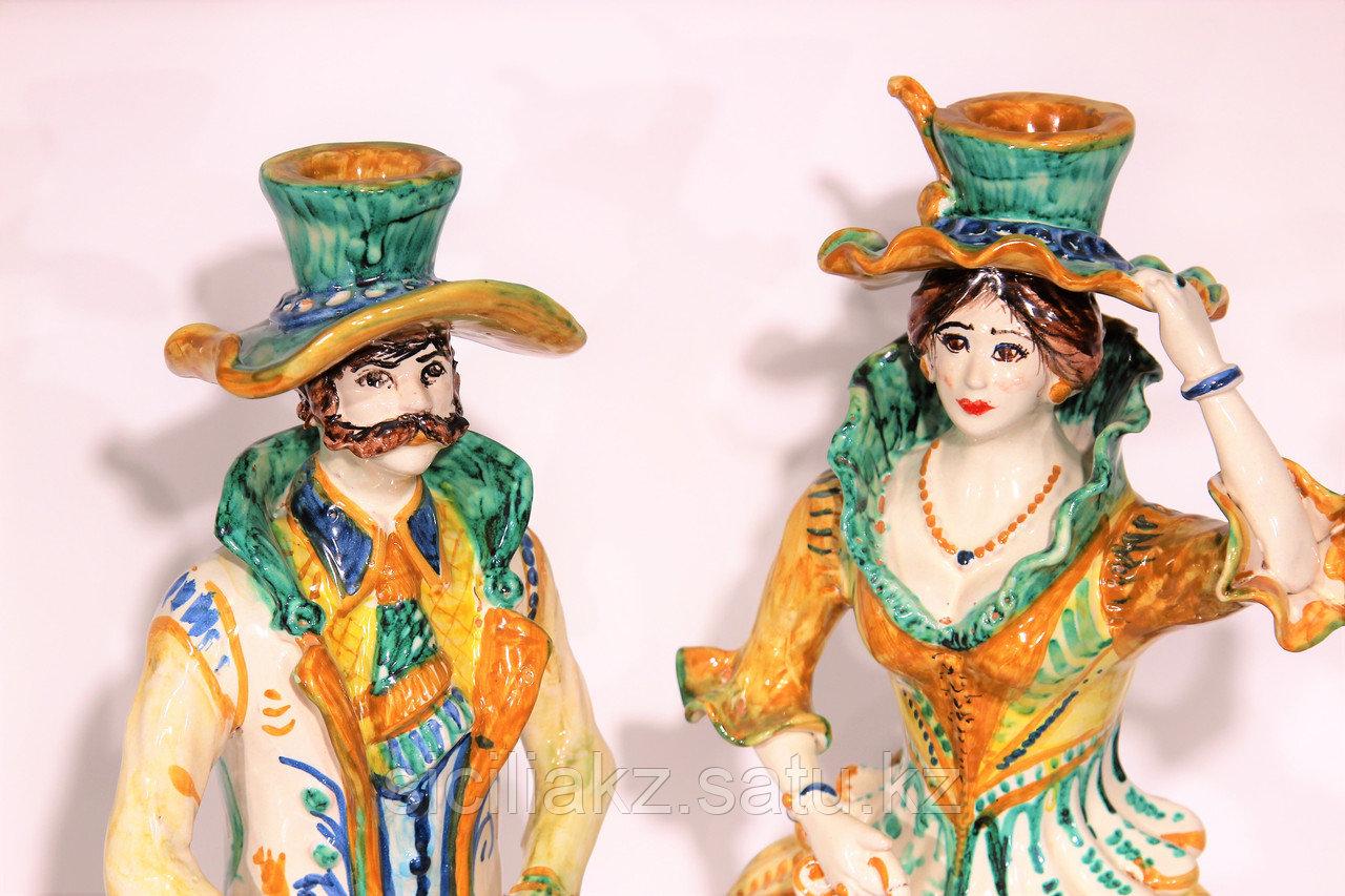 Подсвечники ручной работы, керамика. Италия - фото 5