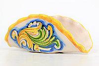 Салфетница ручной работы, керамика. Италия