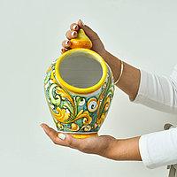 Посуда для сыпучих продуктов ручной работы, керамика. Италия