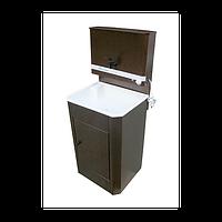 Умывальник для дачи с водонагревателем, пластиковая раковина, фото 1