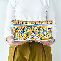 Ваза-горшок ручной работы, керамика. Италия
