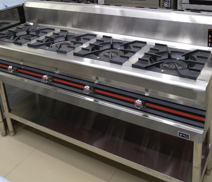 Промышленная газ плита