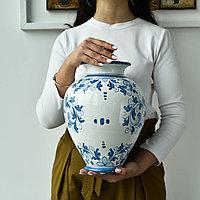 Ваза ручной работы, керамика. Италия