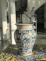 Ваза Коффа ручной работы, керамика. Италия