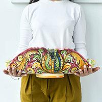 Фруктовница ручной работы, керамика. Италия
