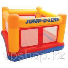 Надувной игровой центр - батут Jump-O-Lene 174х174х112 см, Intex 48260