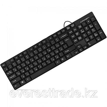 Клавиатура проводная Crown CMK-479, USB, 1,8m, фото 2