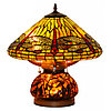 Настольная лампа тиффани, Руфина