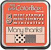 Набор мини штампов КолорБокс (MY FIRST COLORBOX) - Birthday (день рождения)