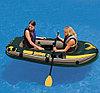 Надувная 2-х местная лодка INTEX SeaHawk 2 Set 68347, фото 2