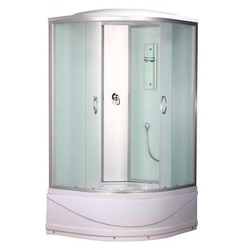Душевая кабина ERLIT ER3509TP-C3 900*900*2150 высокий поддон, светлое стекло