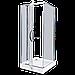 Душевое ограждение -Alex Baitler (Germany) AB214-90  900*900*2000 светлое стекло (без поддона), фото 2
