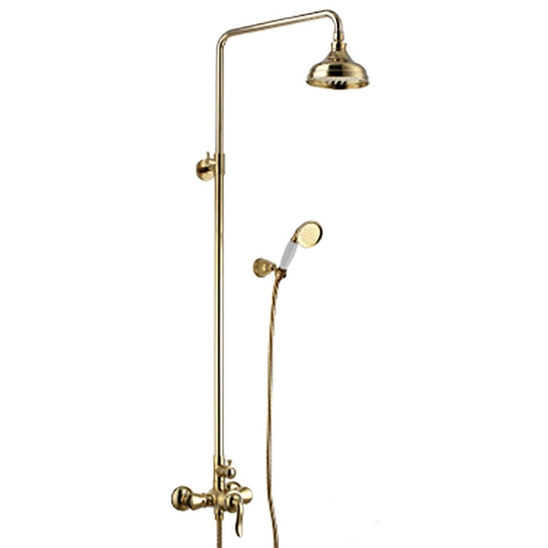 """Смеситель для ванны с верхней душевой лейкой """"Троп дождь"""" поворотный изл. (к/к 4) LM4762G """"Брава"""""""