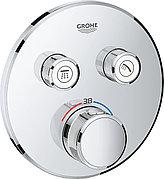 Термостат для ванны встраиваемый без излива Grohe Grohterm Smartcontrol 29124000