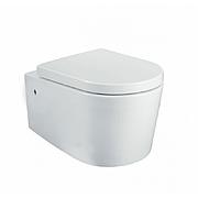 Сиденье Creo для унитаза soft close белое OR1001