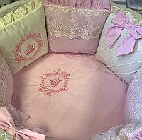 Постельный комплект для круглой и овальной кровати, фото 1