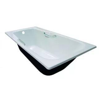 Ванна чугунная 1500*700 мм НЕГА-У с ручками