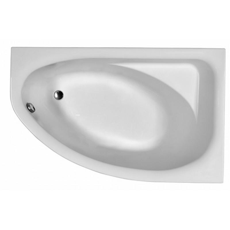 Ванна акриловая KOLO SPRING R асимметричная 160х100 cм, правая, в комплекте, белая