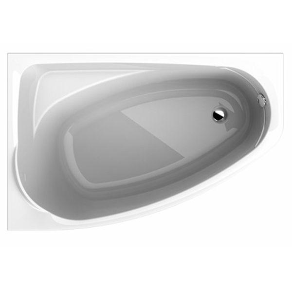 Ванна акриловая KOLO MYSTERY R асимметричная 150х95 cм, правая, в комплекте, белая