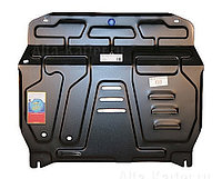 Защита картера двигателя и кпп на Mitsubishi Lancer/Митсубиши Лансер 2003-2007, фото 1