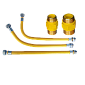 Газовая труба и фитинги