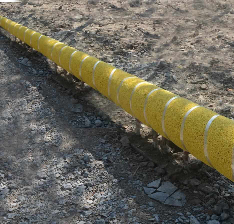 Защита изоляции трубопроводов